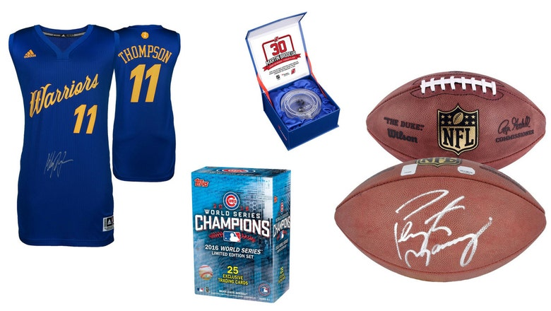 Get your Father's Day gifts at Amazon's one-day sports memorabilia sale