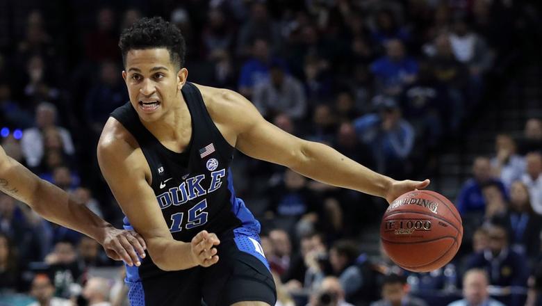 Pelicans get Duke's Jackson from Charlotte in draft deal