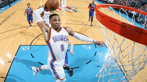 Russell Westbrook Named NBA MVP