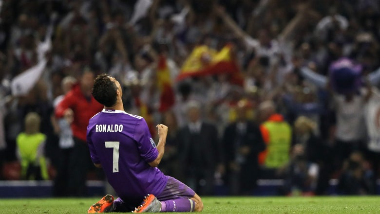 Real Madrid become the first team to ever win back-to-back Champions League titles