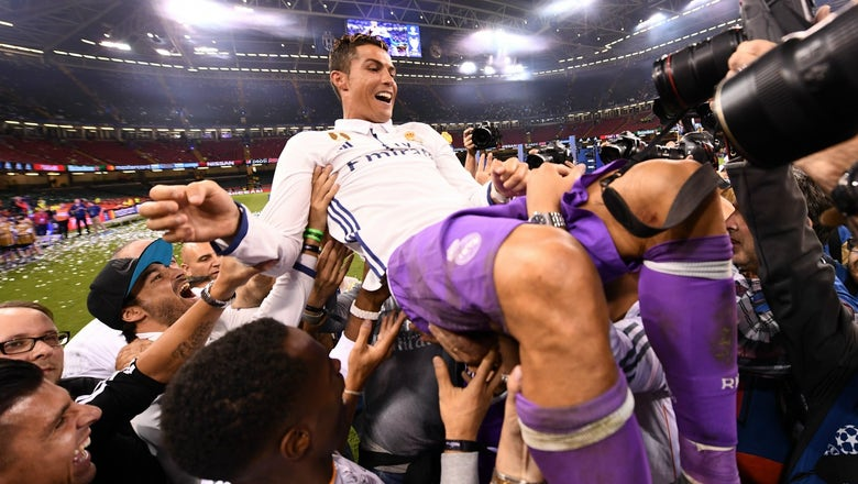 Cristiano Ronaldo capped off his best year ever with one of his best performances ever in the Champions League final