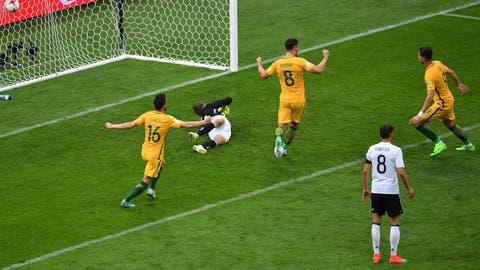 Australia had moments
