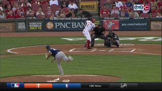 HIGHLIGHTS: Reds homer twice, plate 4 runs in 1st inning