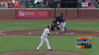 HIGHLIGHTS: Jackson breaks tie, Indians tack on two more