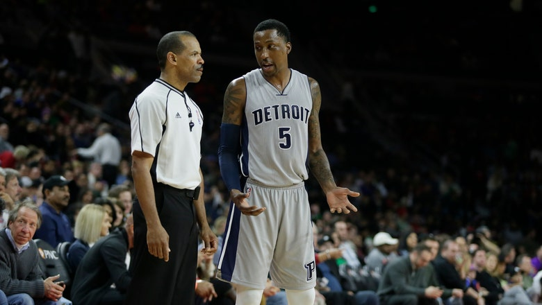 Pistons guard Kentavious Caldwell-Pope suspended two games following traffic arrest