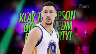 Klay Thompson shows off his dance moves in China | TMZ SPORTS