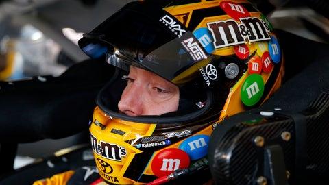 Kyle Busch takes pole at Pocono Raceway