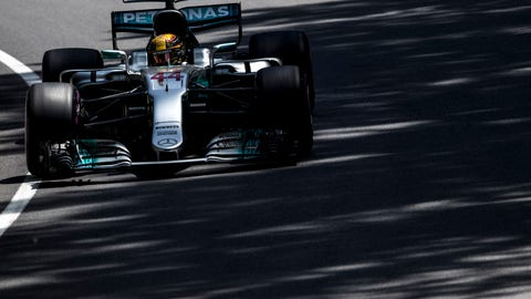 Hamilton wins Canadian GP pole, ties Senna on all-time list