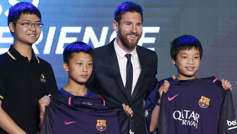 There's a Lionel Messi theme park opening in China