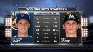Marlins' Jeff Locke looks for first win of season vs. Mets