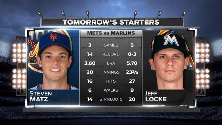 Marlins' Jeff Locke looks for first win of season vs. Mets