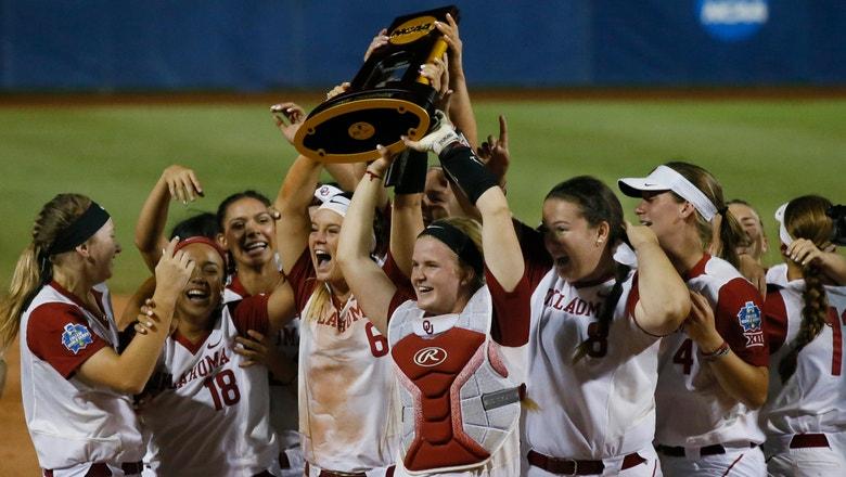 Oklahoma defends softball title with 5-4 win over Florida