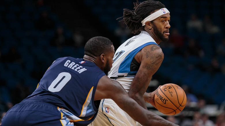 Timberwolves waive center Jordan Hill