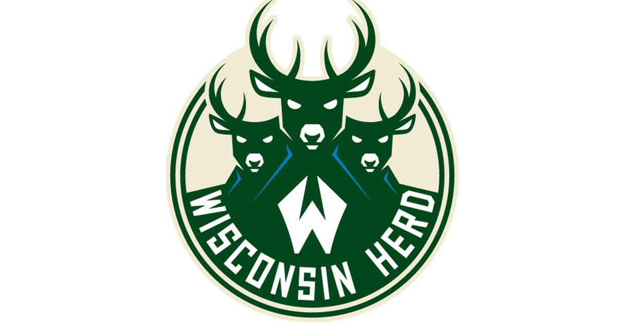 Bucks G League Affiliate Wisconsin Herd Unveil Logo Fox