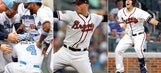 Three Cuts: Walks-offs, luxuries of six-man rotation, Braves' catchers on pace for painful record