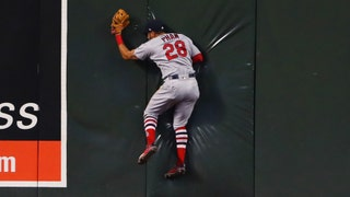 WATCH: Pham makes an incredible catch in center