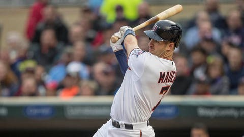 Twins use HR barrage to bury Angels