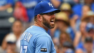 Yost unhappy with ump's 'very small strike zone'