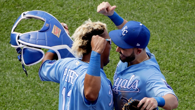 WATCH: Salvy hits his first career grand slam for Royals lead