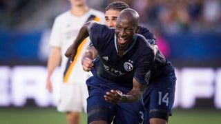 Ike Opara breaks down his bicycle kick goal against Galaxy