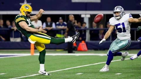 Packers release punter Jacob Schum