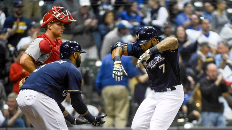 Thames not only Brewer to give Reds pitchers nightmares