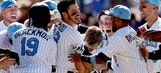 Three Strikes: Arenado's big day helps Rockies keep pace atop crowded NL West