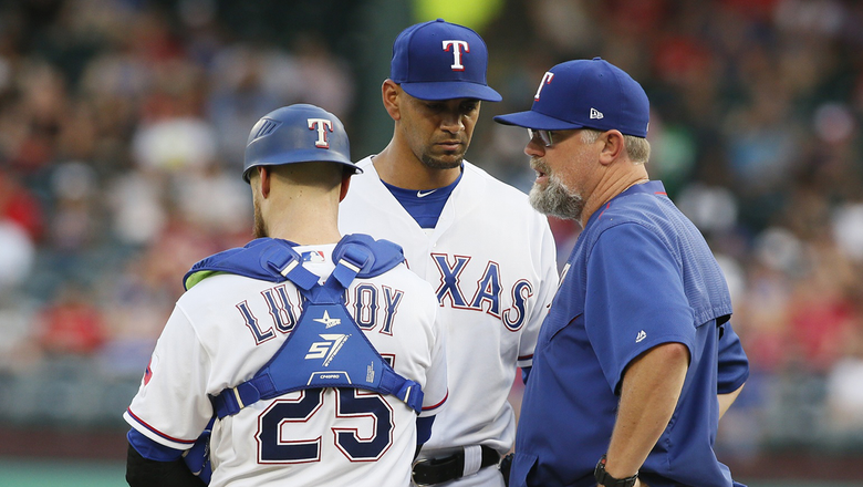 Ross struggles early in Rangers' loss to Blue Jays