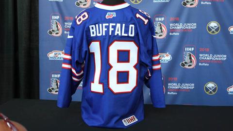 wholesale dealer c094d 8cdec Team USA will wear Bills-themed hockey jerseys for outdoor ...
