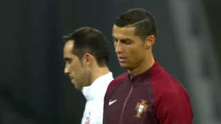 Why didn't Cristiano Ronaldo shoot Portugal's first penalty?