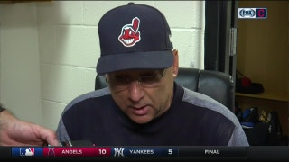 Terry Francona: Clevinger 'competed like crazy' to help us win