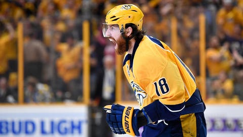 Predators win on home ice
