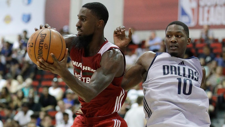 Okaro White records double-double as Heat fall to Mavericks in Summer League