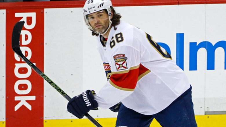 End of an era: Jagr's time in Florida is over