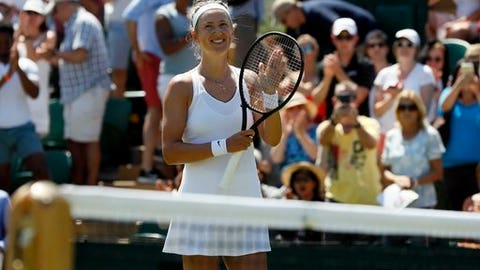 Victoria Azarenka sweeps Elena Vesnina in Wimbledon second round