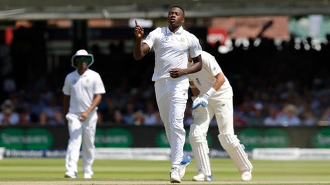 South Africa´s Rabada banned from second England Test