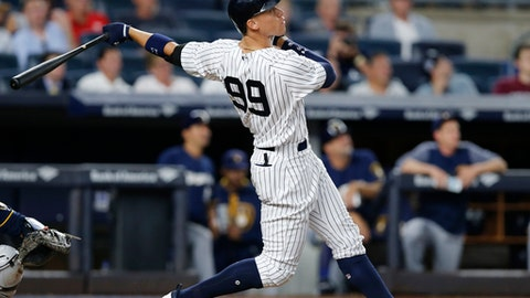 Yankees rookie sensation Aaron Judge stays motivated with one single stat