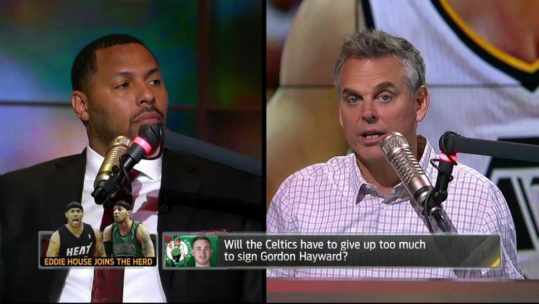 How much better will the Celtics be with Gordon Hayward? | THE HERD