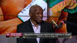 Floyd Mayweather Sr. explains why nobody should be worried about his son's age | THE HERD