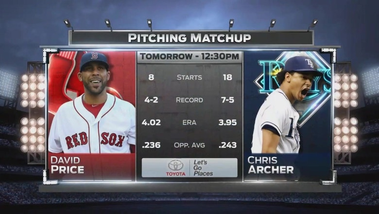 Former teammates Chris Archer, David Price face off to end first half
