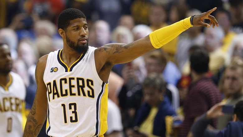 WATCH: Thunder fans gather at OKC airport for Paul George's arrival
