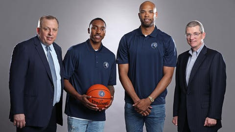 Gibson, Teague Ready To Be Part Of 'Something Special' | Minnesota Timberwolves