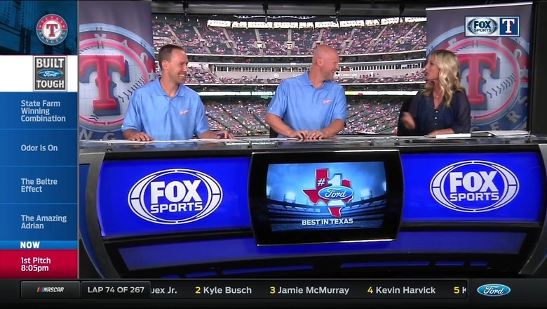 Rangers Live: The Rangers are wearing the 1977 Baby Blues