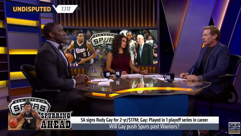 Skip and Shannon debate how the Spurs stack up against the Warriors | UNDISPUTED