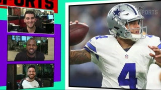 Michael Irvin on Dak Prescott going back to school 'Plays first' | TMZ SPORTS