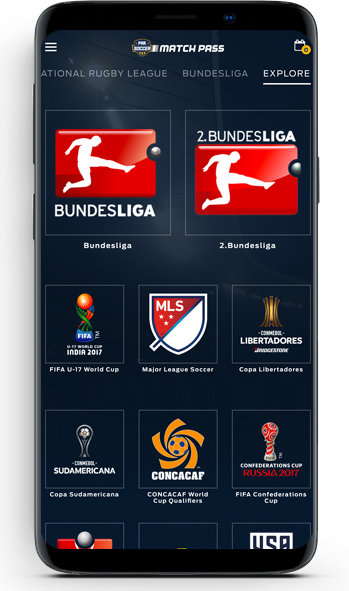 FOX Soccer Match Pass Android app screenshot