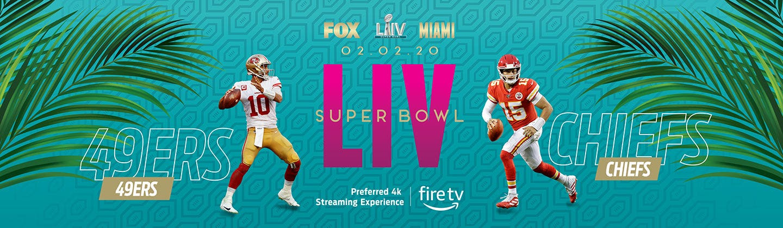 Football teams San Francisco 49ers and Kansas City Chiefs will play in Super Bowl LIV