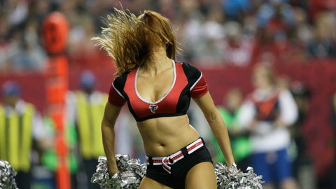 Falcons cheerleader