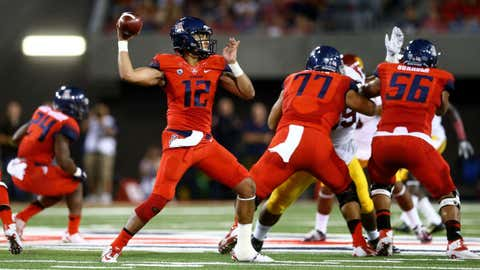 Across the field: Arizona QB Anu Solomon/LB Scooby Wright