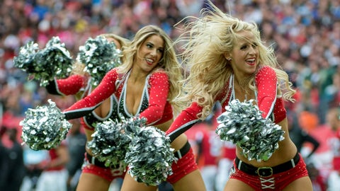 Falcons cheerleaders